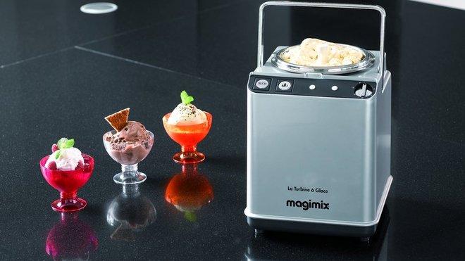 Comment faire une glace crémeuse avec sorbetière